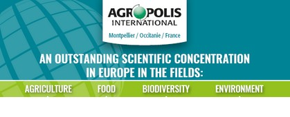 Just published: poster 'The scientific community in key figures and the missions of Agropolis International'