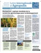 Agropolis International Newsletter n° 6 march 2010